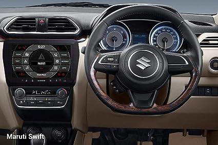 Woodman WM-SWDZLX22 9 inch HD Display/WiFi/Bluetooth/USB/ Quad Core  Processor Smart Android Car Stereo (For Maruti Swift & Dzire -New 2018)