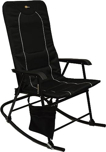 Faulkner 49597 Dakota Rocking Chair, Black