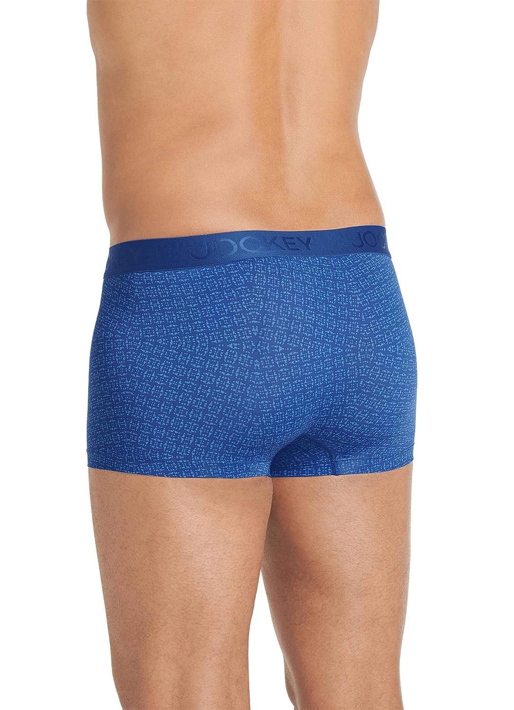 Jockey Mens Underwear Lightweight Travel Microfiber Trunk