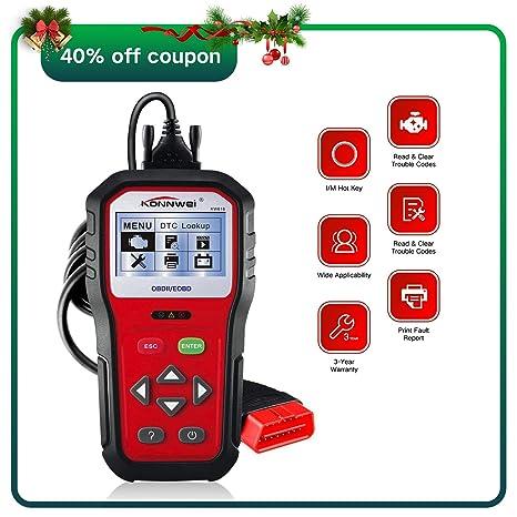 【Upgraded】OBD2 Car Diagnostic Scanner, KW818 Pro Universal Car Code reader  Vehicle Diagnostic Tool, OBD2 EOBD Scanners Tool Check Engine Light