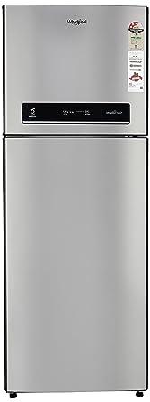 Whirlpool 340 L 3 Star Frost Free Double Door Refrigerator(IF 355 ELT ALPHA STEEL(3S), Alpha Steel)