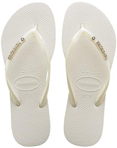 Havaianas Unisex Top Zehentrenner, Weiß (White 0001), 39/40 EU (37/38 Brazilian)