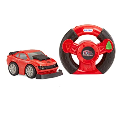 Little Tikes YouDrive Red Muscle Car with Easy Steering Remote Control Toy, Multicolor: Toys & Games