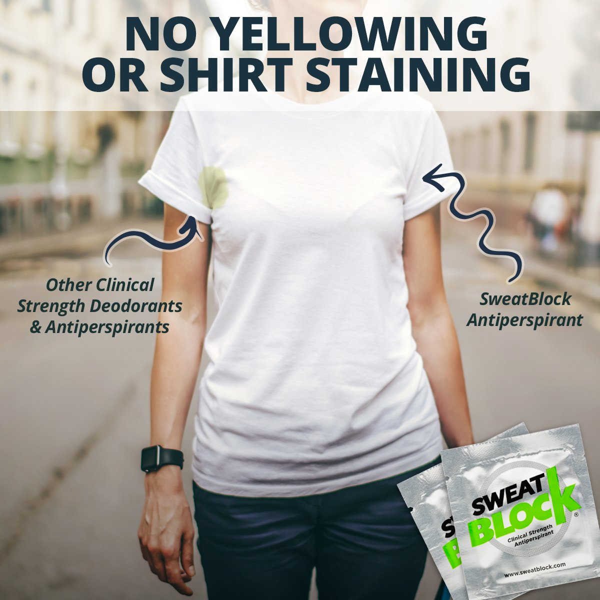 SweatBlock Antiperspirant - Clinical Strength - Reduce Sweat up to 7-days per Use by SweatBlock (Image #8)