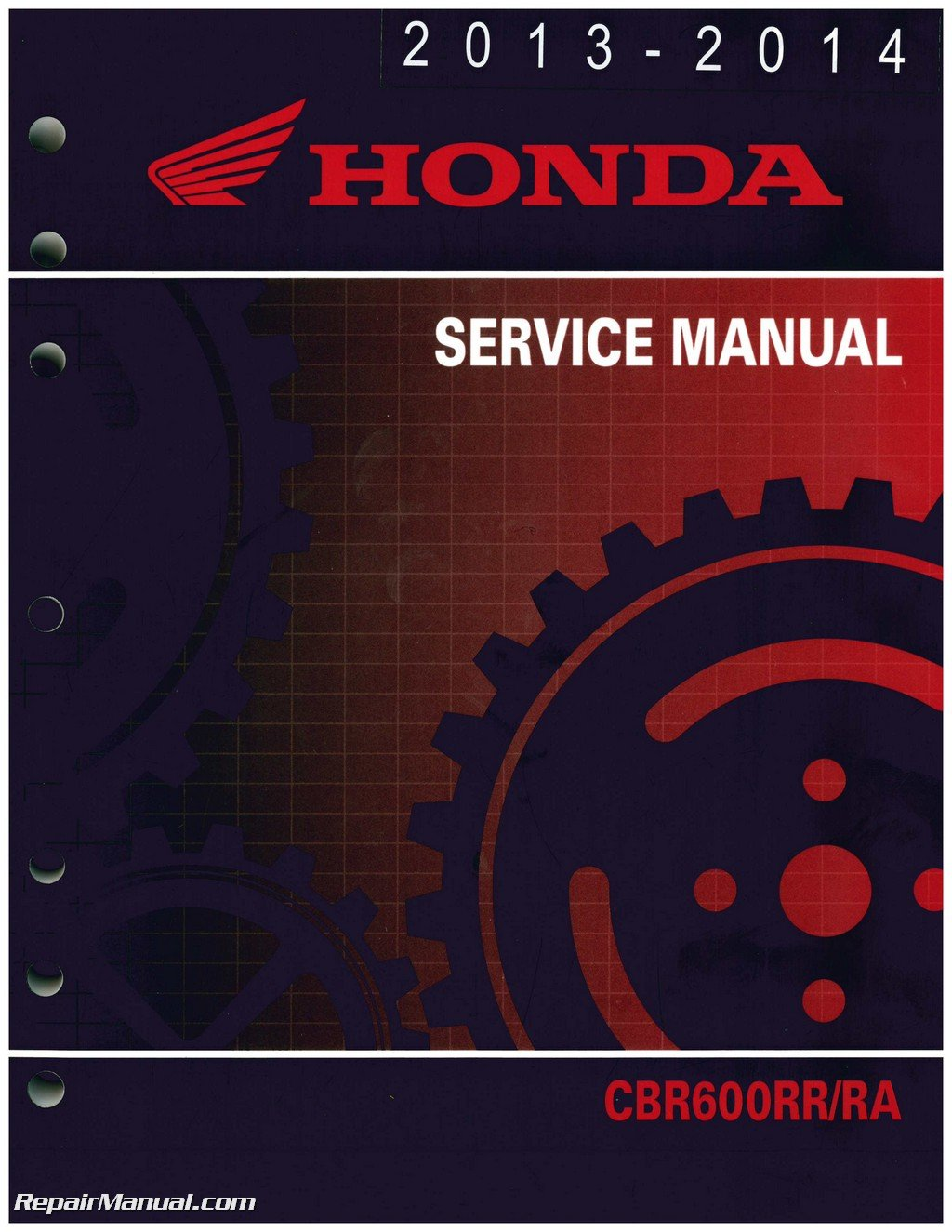 61MJC03 2013-2016 Honda CBR600RR RA Motorcycle Service Manual:  Manufacturer: Amazon.com: Books