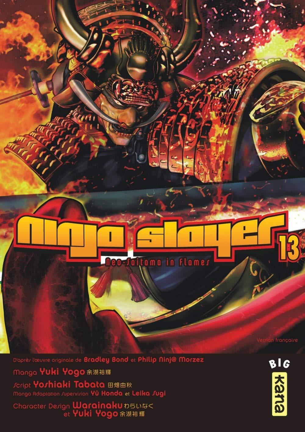 Ninja Slayer, Tome 13 : Neo-Saitama in Flames: 9782505075998 ...