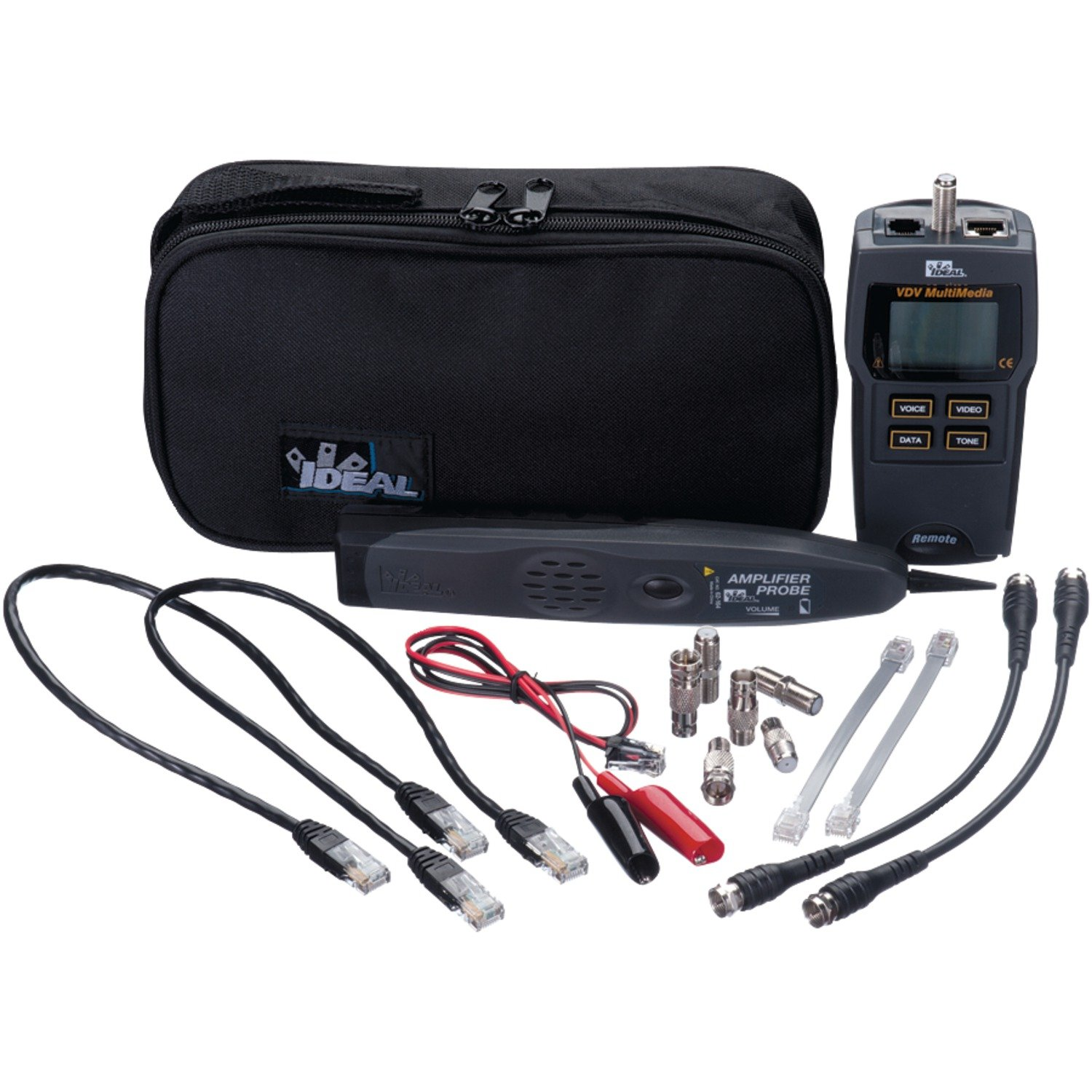 Ideal Industries 33-866 Test-Tone-Trace VDV Tester Kit Network by Ideal Industries