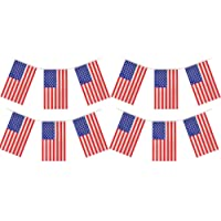 My Planet 24 x USA America Premium Quality Flag Bunting Huge 10m Party Decoration Banner