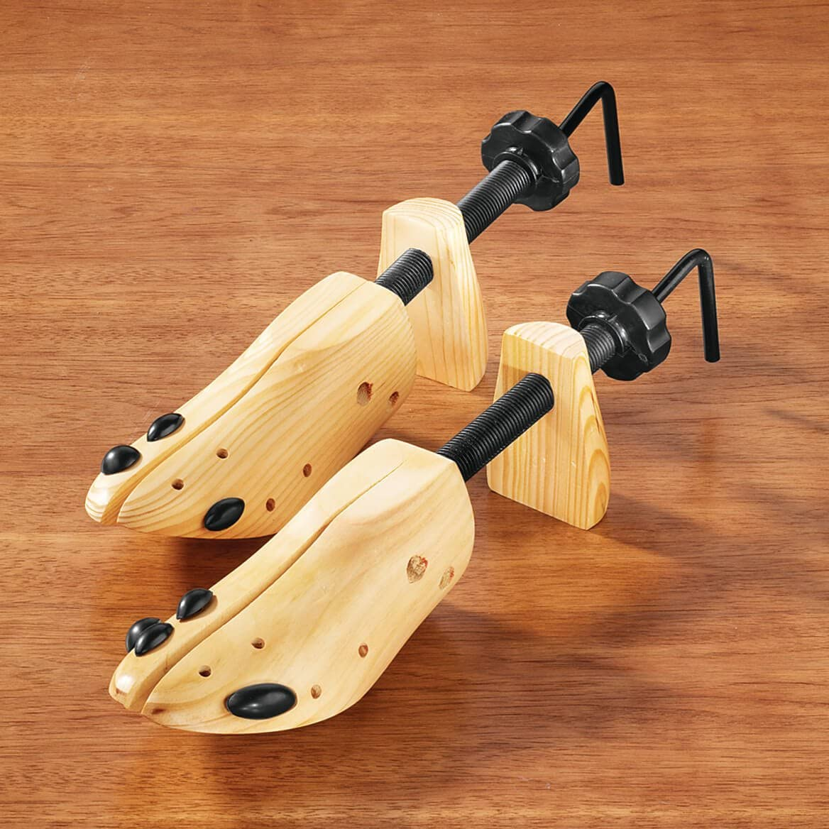 Set of 2 Deluxe Wood Shoe Stretcher