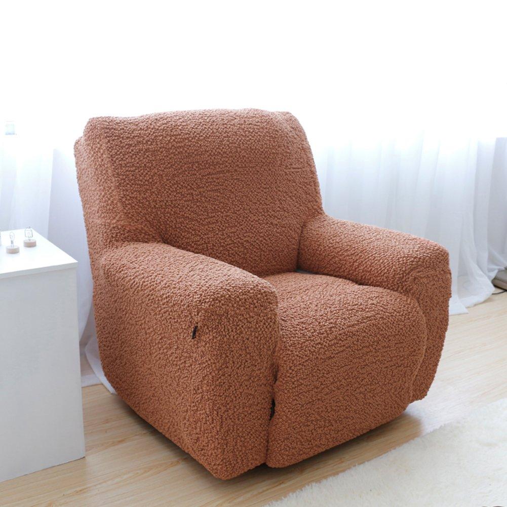アンチ スリップ 厚く 単色 ソファー slipcover,防汚 オールインクルーシブ ソファ カバー 洗濯機 ペットと子供たち-H 1人掛け 1人掛け H B07JWM4SHY