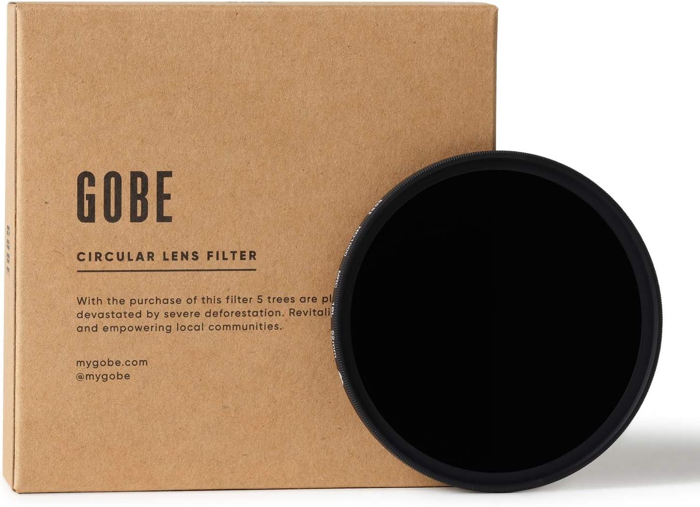 Gobe - Filtro para Objetivo ND 52 mm ND1000 (10 Pasos) (2Peak ...