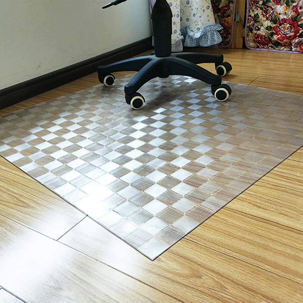 Amazon Com Loveglass Clear Office Chair Mat Rectangle Pvc Chair