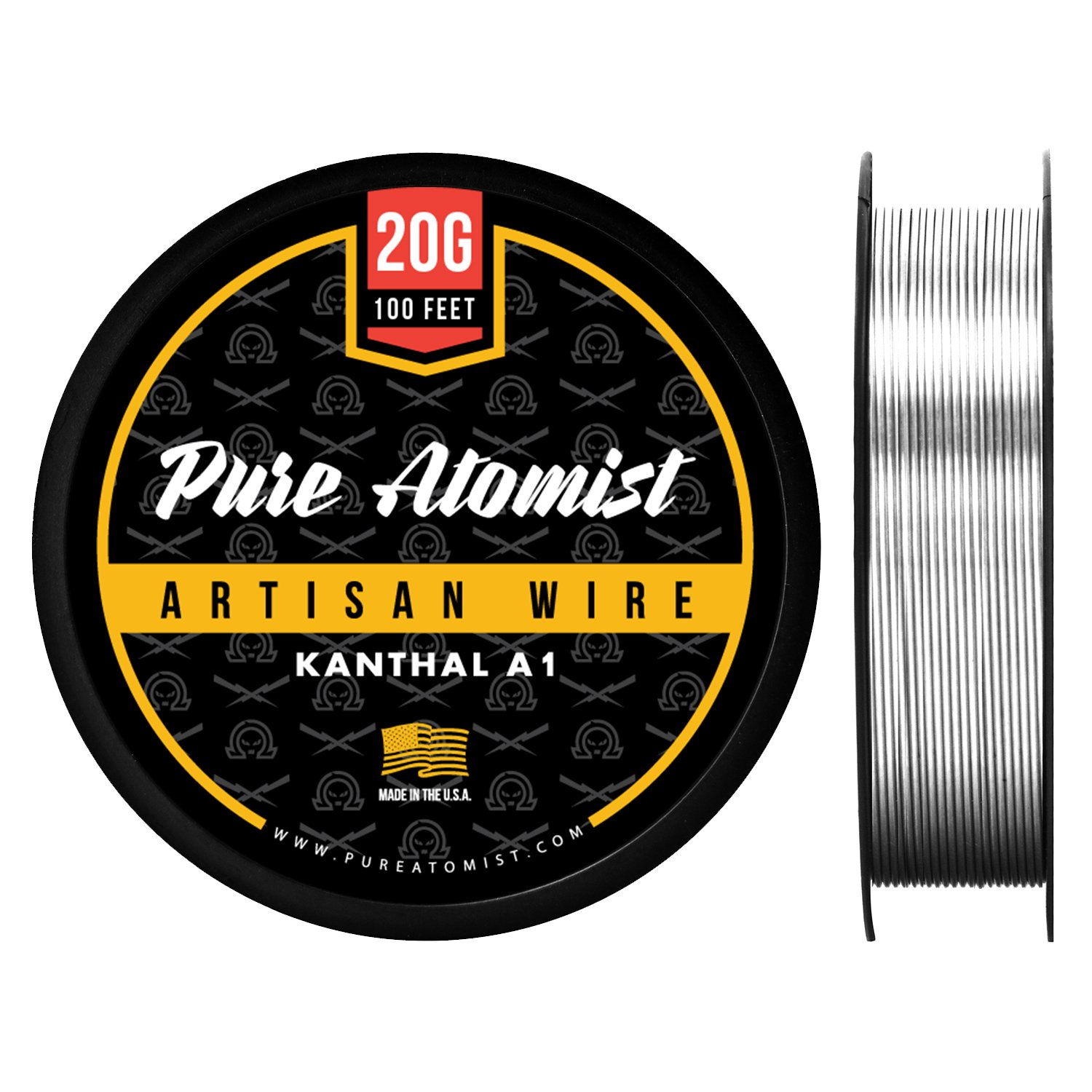 KA1 Wire 20g GA 0.81 mm 50 ft 20 Gauge AWG Kanthal A1 Wire 50/' Length