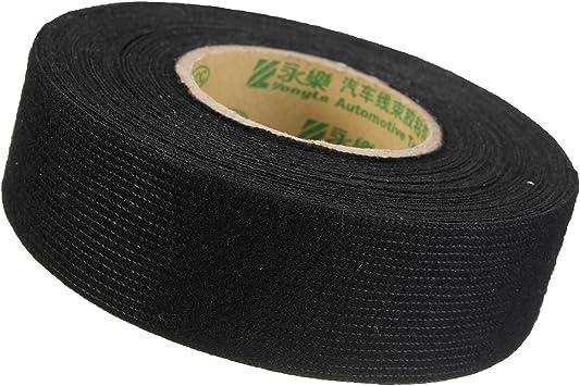 Soloop cinta aislante de franela, para coche (tejido algodón K776 10 m x 25 mm): Amazon.es: Bricolaje y herramientas