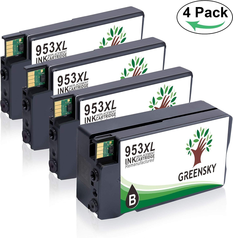 GREENSKY 953xl Cartuchos de Tinta Compatibles 953 953XL para HP ...
