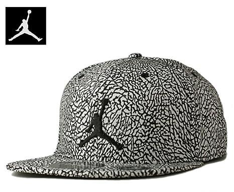 eab0f962 ... get nike air jordan 1 retro unsupreme elevated elephant print court cap  snapback hat black 8c5b5