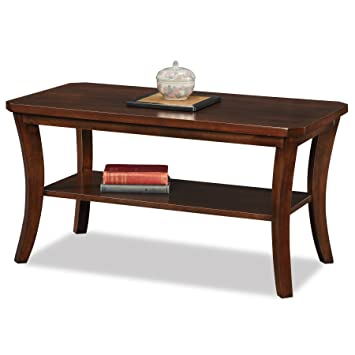 leick furniture boa collection solid wood coffee table - Leick Furniture