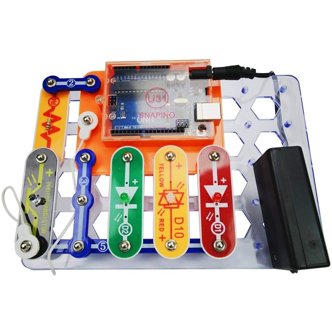 Snap Circuits Skill Builder Coding Making A Upgrade Sc100 To Sc750 Click Enlarge Arduino Compatible Perfect Introduction Great Stem Product
