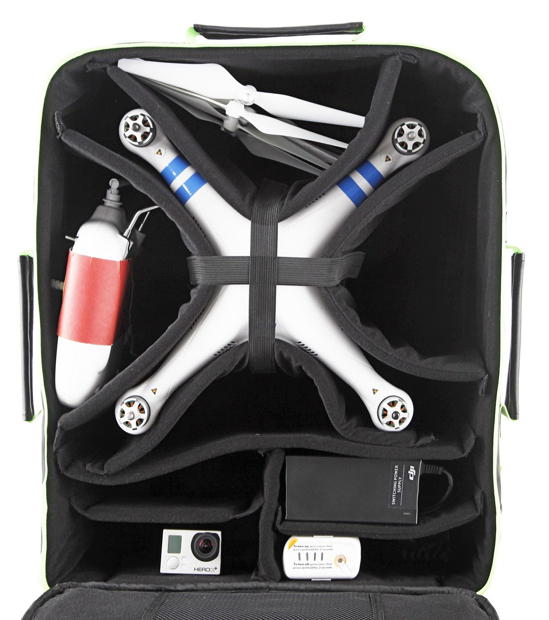 Drone Max Ultimate Backpack Black Green