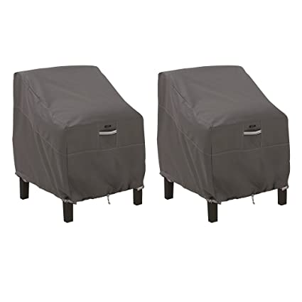 Tremendous Classic Accessories Ravenna Patio Lounge Chair Cover Large 2 Pack Andrewgaddart Wooden Chair Designs For Living Room Andrewgaddartcom