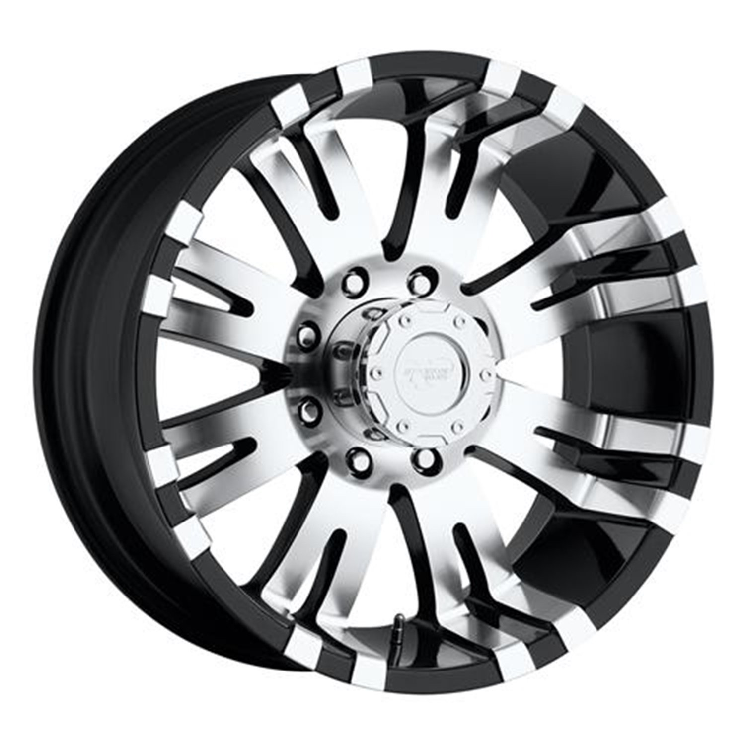 Pro Comp Alloys Series 01 Gloss Black Wheel with Machined Face (17x9''/8x165.1mm)