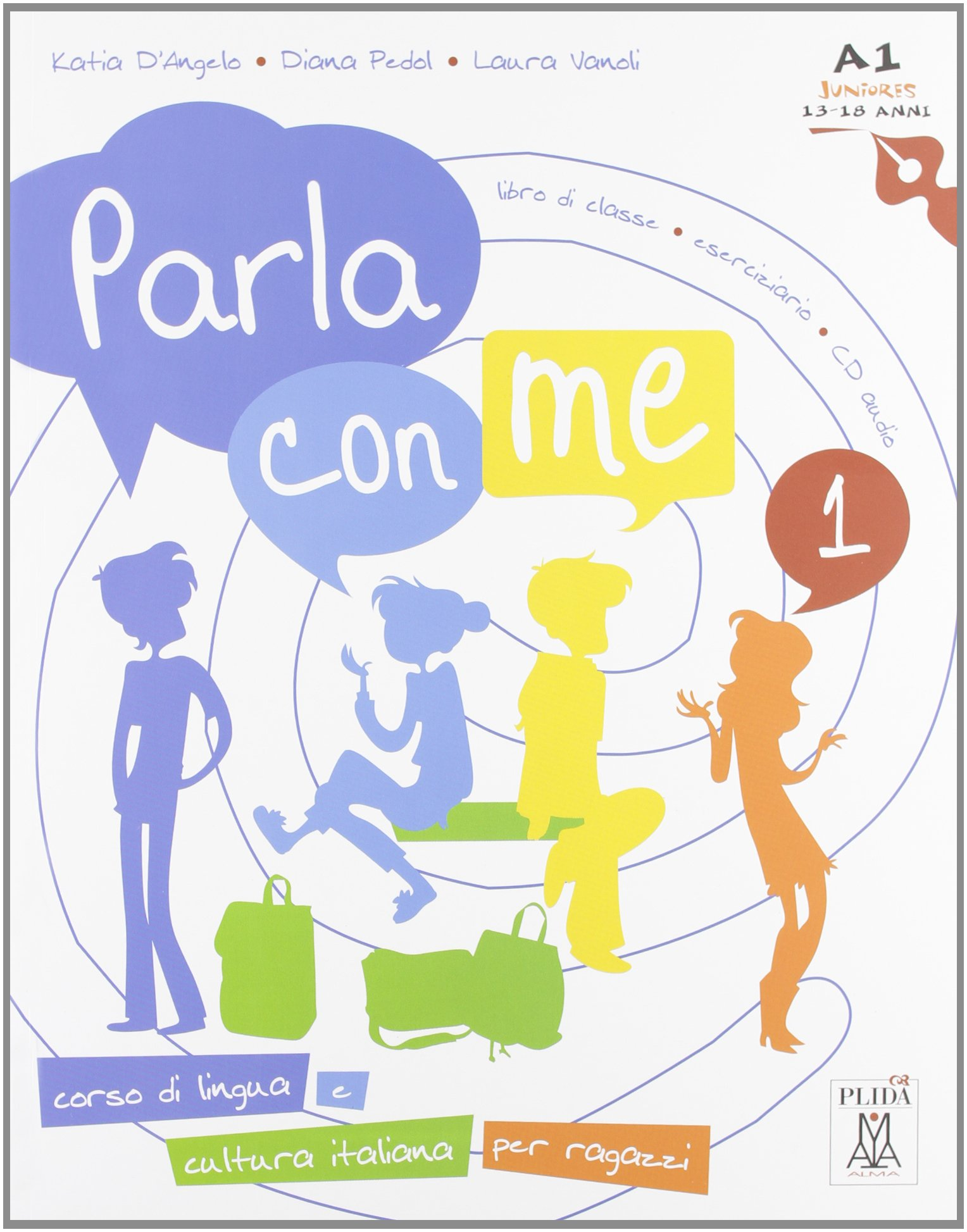 Read Online Parla con me: Libro + CD-audio 1 pdf epub