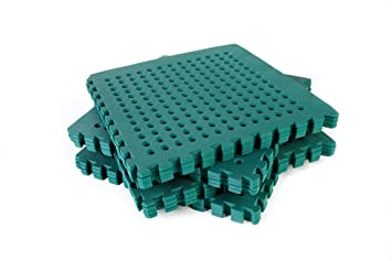 Garden Safety Green Mats 64sq ft K easimat branded mats Amazonco