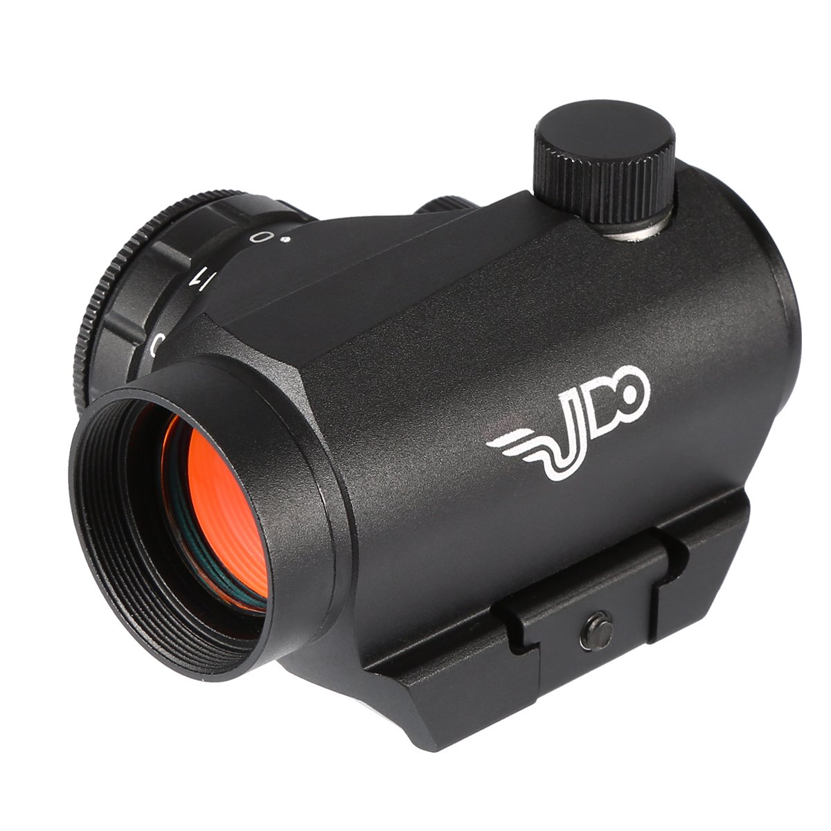 Udo Red Dot Sight With 2MOA Dot Accuracy, Shock Water Fog Proof Durable, 11 brightness levels, Warranty, Black