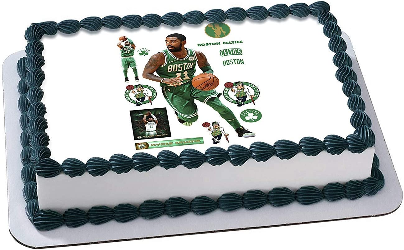 Wondrous Amazon Com Kyrie Irving Edible Image Cake Topper Icing Sugar Funny Birthday Cards Online Alyptdamsfinfo