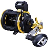 Sougayilang Line Counter Fishing Reel Conventional Level Wind Trolling Reel