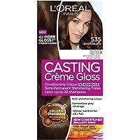 L'Oréal Paris Casting Crème Gloss Semi-Permanent Hair Colour - 535 Chocolate (Ammonia Free)
