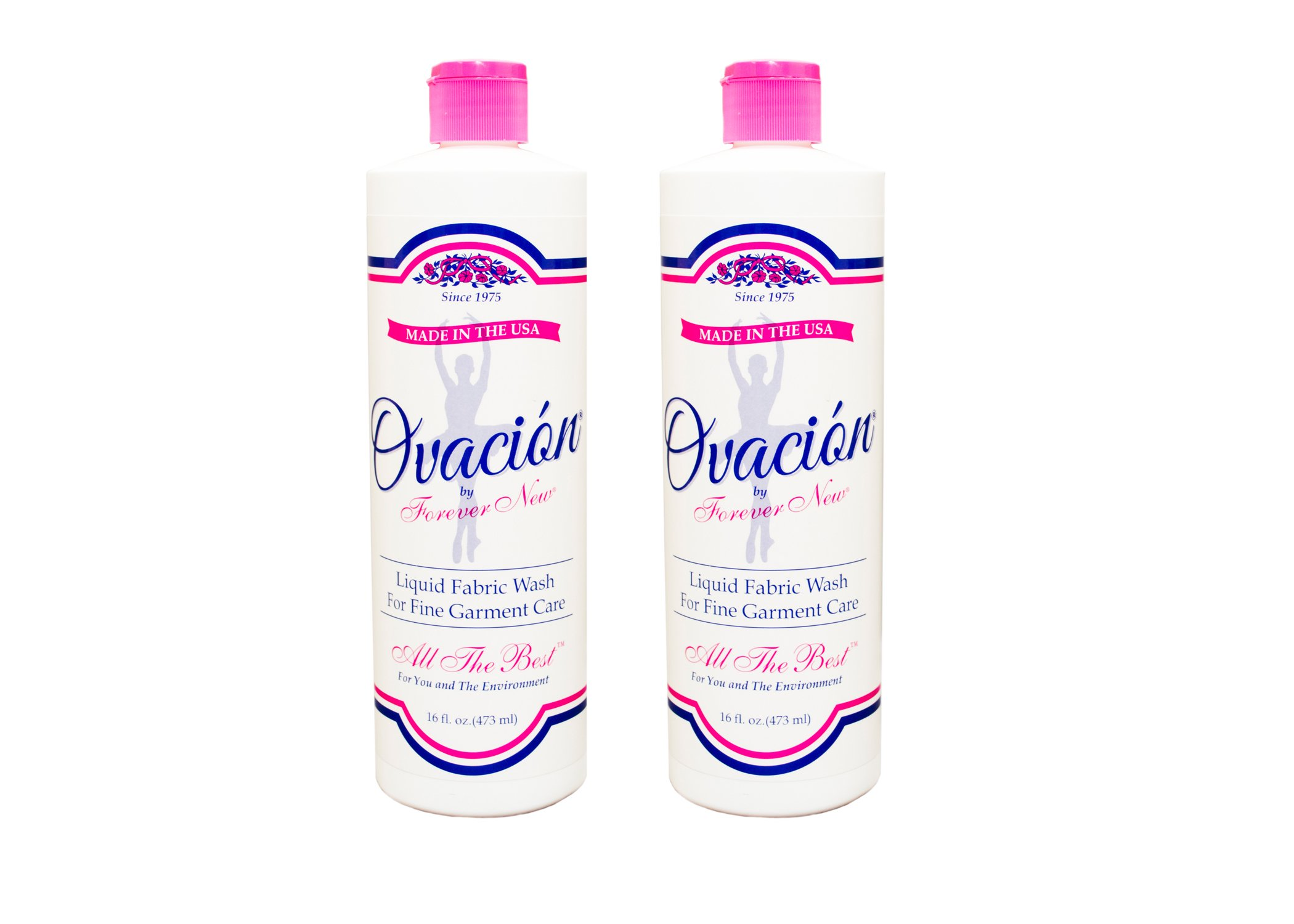 Ovacion by Forever New Liquid Fabric Care Wash 2 Pack (32oz Total)