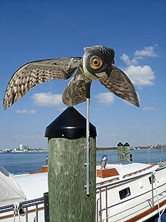 JIYA Bird Control Repeller Owl Animal Repellent Garden Plastic Action Owl  Scare Bird Owl Pest Control