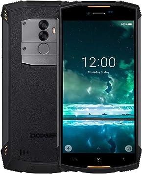 DOOGEE S55 Teléfono Móvil Libre Resistente 4G, IP68 Impermeable Octa Core 4GB + 64GB Smartphone Libres Android 8.0, 5500mAh 5,5 Pulgada HD+, Cámara 13.0MP+8.0M, GPS Impronta Digitale, Naranja: Amazon.es: Electrónica