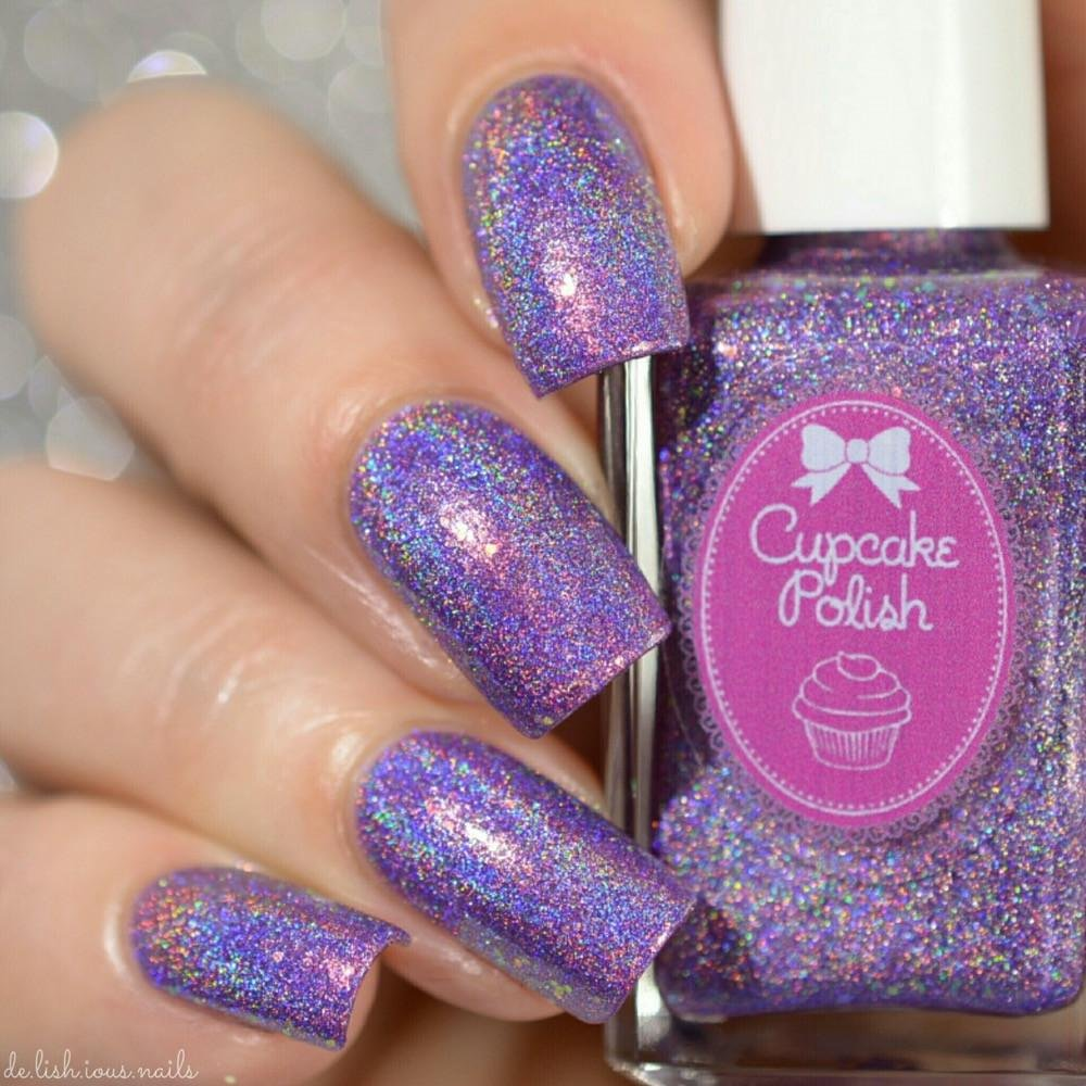 Sea-duction - holographic nail polish by Cupcake Polish