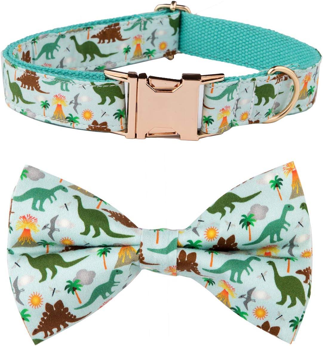 NestTimes Dog Bow Tie Dog Collar,Detachable Bowtie, Adjustable Collar for Small Medium Large Dogs …