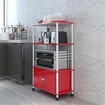Estantería de cocina multifunción práctica Estante para horno de microondas Estante para cocina Estante para suelo