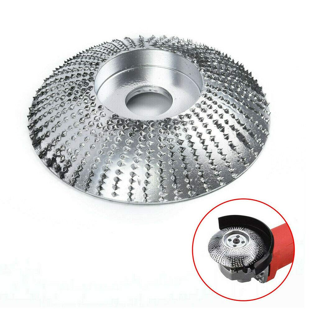 Treasurem Meule Angle en bois pour Meuleuses Pon/çage outil Rotatif pour Sculpter Disque Abrasif pour Meuleuse DAngle Al/ésage en Tungst/ène 5//8 Pouces