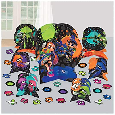 Splatoon Table Decorating Kit (31pc): Toys & Games