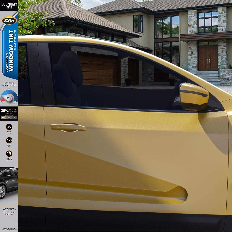 Back Black 20 Variance Auto Tinted Films for Car Complete Kit Front Black 35