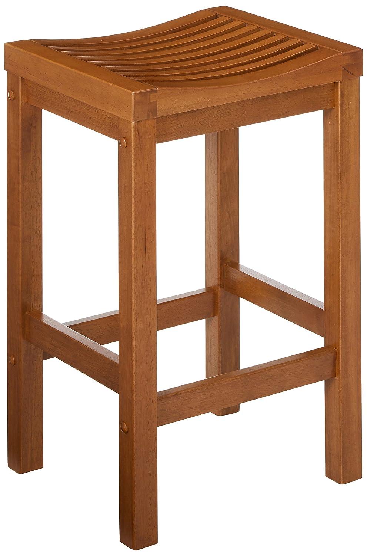 Home Style 5636-88 Cottage Oak Finish Bar Stool, 24-Inch
