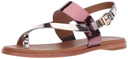 a7abb07aa2df Cole Haan Women s Anica Thong Sandal Ch Cordovan Wild Ginger Specchio  Ankle-High Patent