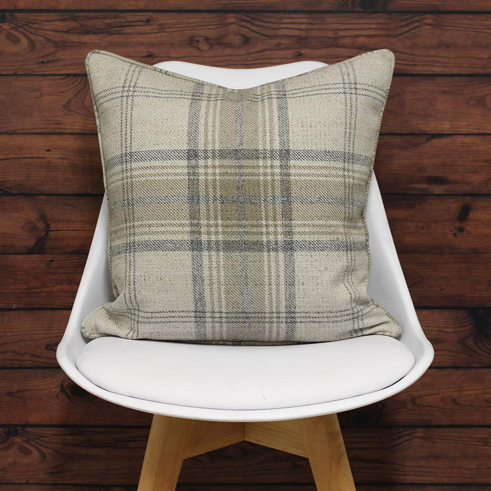 Natural 45 x 45 cm Polyester Beige Riva Paoletti Aviemore Cushion Covers