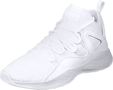 570f8fdef68 Jordan Mens Formula 23 Basketball Shoes White/White-Pure Platinum (10.5  US): Buy Online at Low Prices in India - Amazon.in