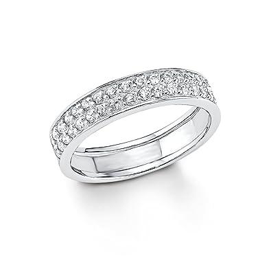 5597e65bdcff s.Oliver Damen Ring basic 925 Silber rhodiniert Zirkonia  Amazon.de  Schmuck