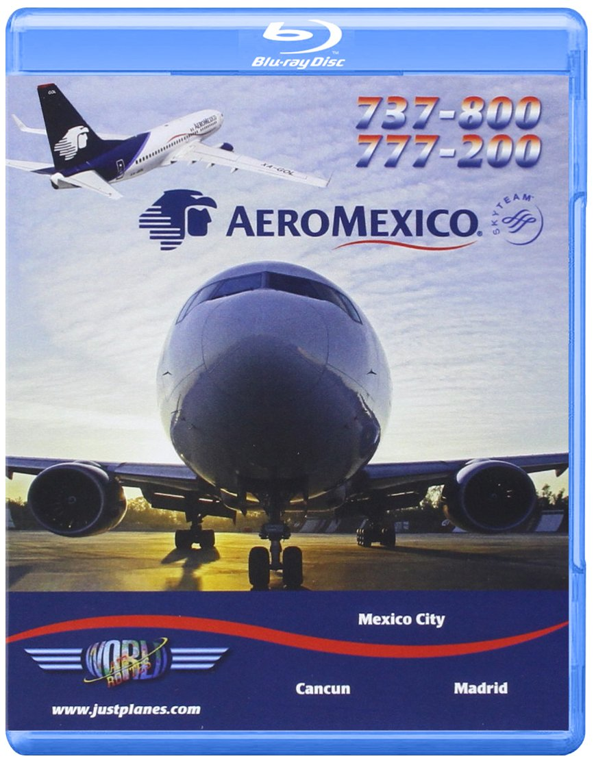 Amazon Com Aeromexico Boeing 737 800 777 200 Blu Ray Just Planes Movies Tv