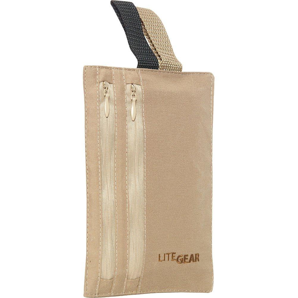 Lite Gear RFID Hidden Pocket Security Pouch, Black LFGRD026