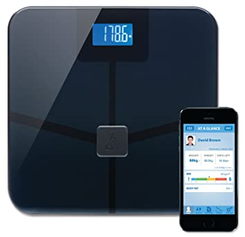 Amazon.com: BlueAnatomy Wireless Smart Scale tracks weight, BMI ...
