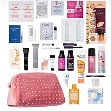 e44b858e9ef4 Amazon.com : Ulta Beauty Bag 26 Piece Set Multi Brand Skin Care Hair ...