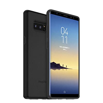 free shipping 449ed 1cf5f mophie Charge Force Case with powerstation External Battery Pack for  Samsung Galaxy Note 8 - Black